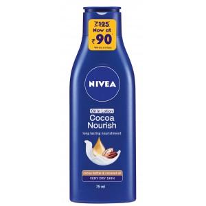 Buy Nivea Oil In Lotion Cocoa Nourish (Off Rs.35/-) - Nykaa