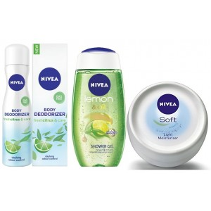 Buy Nivea Citrusy Lemon Combo - Nykaa