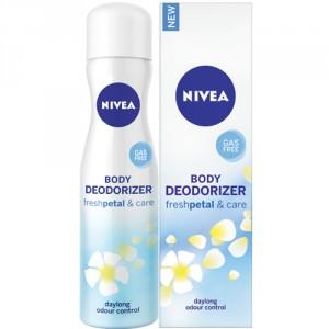 Buy Nivea Body Deodorizer Fresh Petal & Care Spray For Women - Nykaa