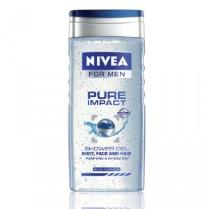 Buy Nivea For Men Pure Impact Shower Gel - Nykaa
