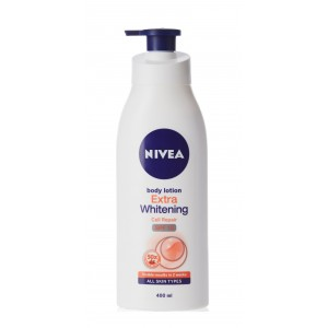 Buy Nivea Body Lotion Extra Whitening Cell Repair & UV Protect Vit C  - Nykaa