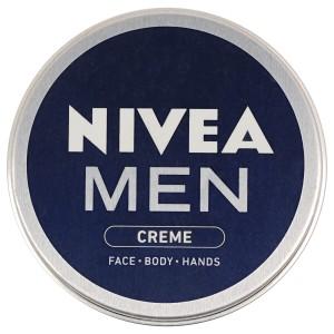 Buy Nivea Men Creme For Face Body Hands - Nykaa