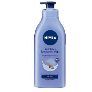 Buy Nivea Smooth Milk Body Lotion With Shea Butter - Nykaa