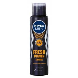 Buy Nivea Fresh Power Charge Deodorant  - Nykaa