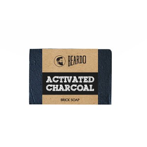 Buy Beardo Activated Charcoal Brick Soap - Nykaa