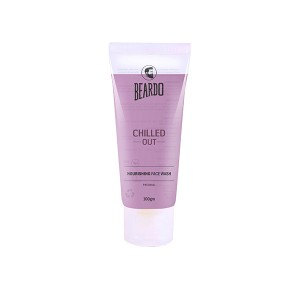 Buy Herbal Beardo Chilled Out Nourishing Men's Face Wash For Dryness - 100 gm - Nykaa