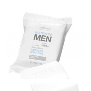 Buy Oriflame North For Men Clenasing Fairness Soap Bar - Nykaa