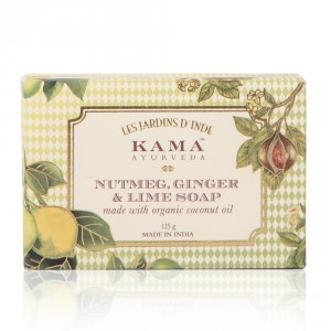Buy Kama Ayurveda Nutmeg, Ginger & Lime Soap - Nykaa