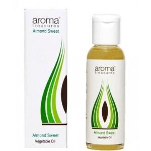 Buy Aroma Treasures Almond Sweet Vegetable Oil  - Nykaa