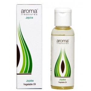 Buy Aroma Treasures Jojoba Vegetable Oil  - Nykaa