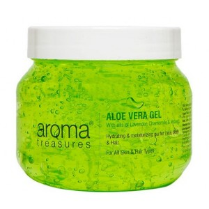 Buy Aroma Treasures Aloe Vera Gel - Nykaa