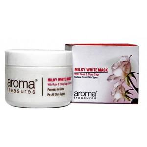 Buy Aroma Treasures Milky White Mask - Nykaa