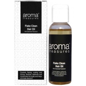Buy Aroma Treasures Flake Clean Hair Oil - Nykaa