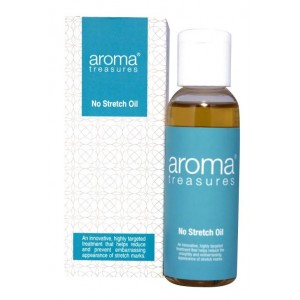 Buy Aroma Treasures No Stretch Mark Oil - Nykaa