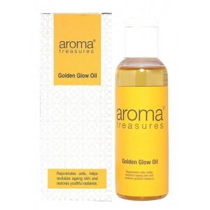 Buy Aroma Treasures Golden Glow Oil - Nykaa