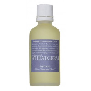 Buy Herbal Nyassa Cold Pressed Wheatgerm Oil - Nykaa