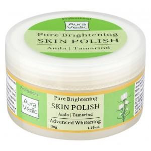 Buy Auravedic Salon Professional Pure Brightening Skin Polish - Nykaa