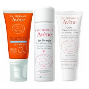 Buy Herbal Avene Sun Care Kit For Normal To Combination Skin  - Nykaa