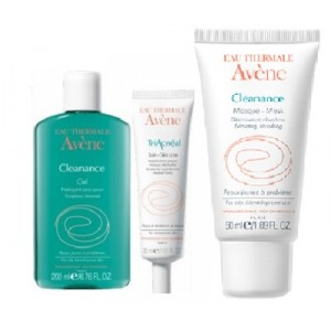 Buy Avene Acne Prone Skin 3-Step Routine Kit - Nykaa