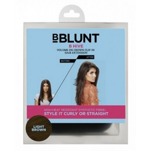 Buy BBLUNT B Hive, Volume On Crown Clip-In Hair Extension - Nykaa