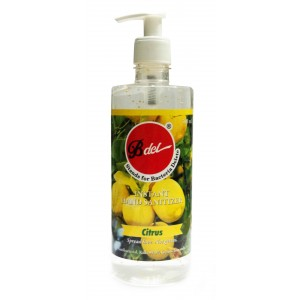 Buy Bdel Instant Hand Sanitizer (Citrus) - 500ml - Nykaa