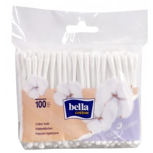 Buy Bella Cotton Buds Foil A100 Pcs - Nykaa