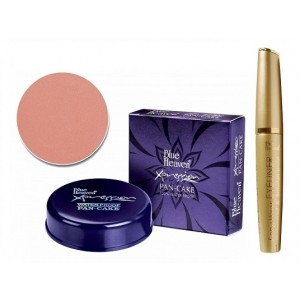 Buy Blue Heaven Xpression Pan Cake 63 & Eye Liner Long Wear Combo - Nykaa