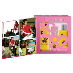 Buy Beverly Hills Polo Club Women Body Fragrance, Body Wash And Eau De Parfum No.8 Gift Set - Nykaa