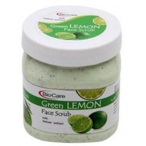 Buy BioCare Green Lemon Face Scrub - Nykaa