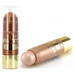 Buy L.A. Girl Velvet Contour Bronzer Stick - Goddess +  Velvet Contour Highlighter Stick - Luminous - Nykaa