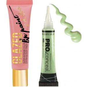 Buy L.A. Girl Lip Paint Glazed - Flirt +  Pro Conceal HD - Green - Nykaa