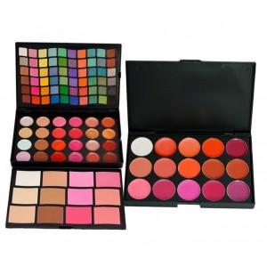 Buy MIB M96 - 3 Layer Make Up Kit + Lipstick Pallete LPL15 - 02 - Nykaa
