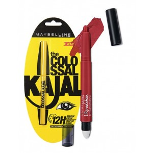 Buy Maybelline New York Lip Gradation - Red 801 + Free The Colossal Kajal - Nykaa