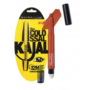 Buy Herbal Maybelline New York Lip Gradation - Orange 230 + Free The Colossal Kajal - Nykaa