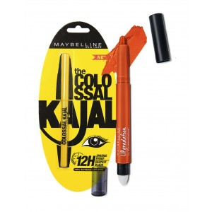 Buy Maybelline New York Lip Gradation - Coral 389 + Free The Colossal Kajal - Nykaa