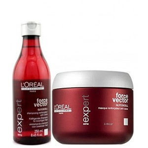Buy L'Oreal Professionnel Expert Serie Force Vector Shampoo & Masque - Nykaa