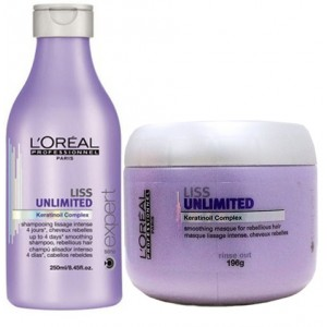 Buy L'Oreal Professionnel Liss Unlimited Shampoo & Masque - Nykaa