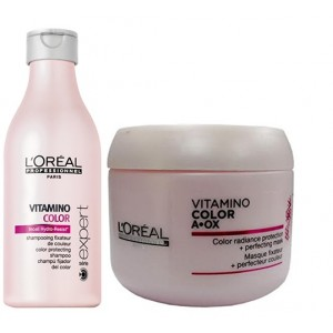 Buy L'Oreal Professionnel Vitamino Color Shampoo & Masque - Nykaa