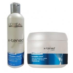 Buy L'Oreal Professionnel X-Tenso Care Pro-Keratine Shampoo & Masque - Nykaa