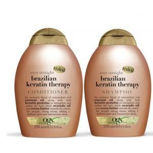 Buy Organix Brazilian Keratin Deffirzzant Shampoo & Conditioner - Nykaa
