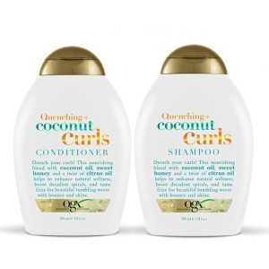 Buy Organix Quenching + Coconut Curls Shampoo & Conditioner - Nykaa