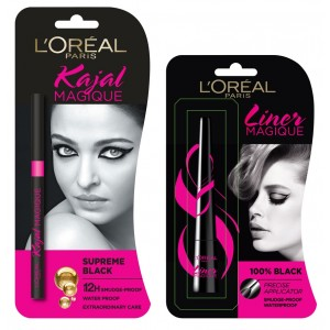 Buy L'Oreal Paris Kajal Magique + Liner Magique Combo - Nykaa