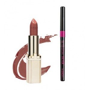 Buy Herbal L'Oreal Paris Color Riche Matte Lipstick - 381 Silky Toffee + Free Kajal Magique  - Nykaa