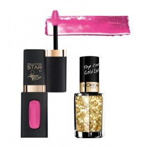 Buy L'Oreal Paris CR Collection Star Pinks - Fan Bingbing + Free CR Les Top Coats - 920 Gold - Nykaa