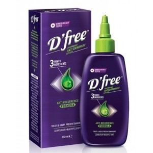 Buy D'free Overnight Anti Dandruff Lotion - Nykaa