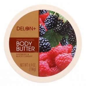 Buy Delon Intense Moisturizing Raspberry & Black Currant Body Butter - Nykaa