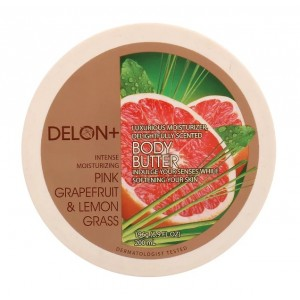 Buy Delon Intense Moisturizing Pink Grapefruit & Lemon Grass Body Butter - Nykaa