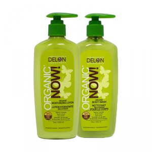 Buy Delon Organic Now Skincare Body Wash + Lotion Combo - Nykaa