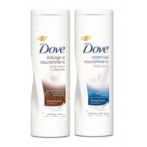 Buy Dove Indulgent Nourishment Body Lotion + Dove Essential Nourishment Body Lotion - Nykaa