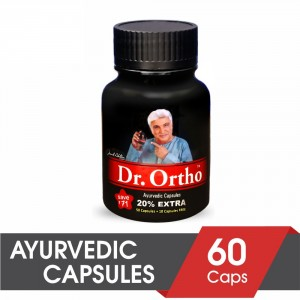 Buy Dr.Ortho Ayurvedic Capsules For 60Caps (Save Rs.71) - Nykaa